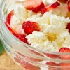 Cottage cheese and fruit