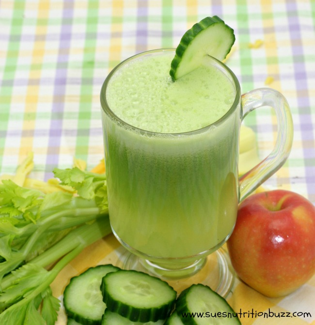 Cucumber Apple Ginger Juice For Strong Hair & Smooth Skin